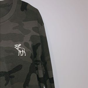 Abercrombie & Fitch camo